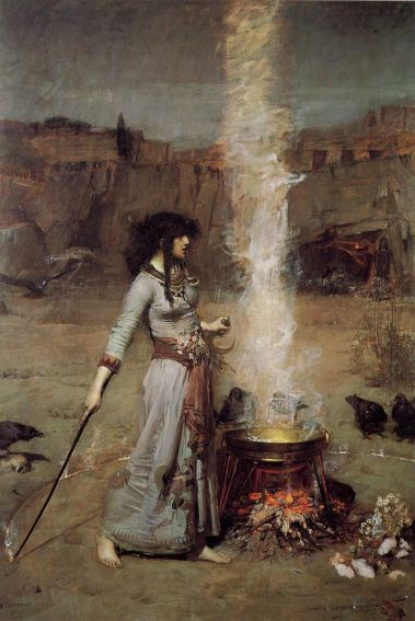 800px-John_William_Waterhouse_-_Magic_Circle